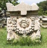 Tomb in Aphrodisias Royalty Free Stock Photos