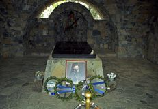 Tomb of Archbishop Makarios, Trodos Mountains, Cyprus Royalty Free Stock Images