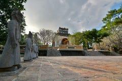The tomb area. Tomb of Tu Duc. Hué. Vietnam Royalty Free Stock Photo