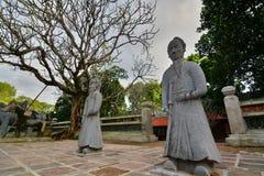 The tomb area. Tomb of Tu Duc. Hué. Vietnam Stock Images