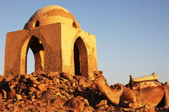 Tomb in Aswan Royalty Free Stock Photos
