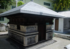 Tomb At Maldives Stock Photography