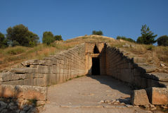 Tomb of Atreus in Greece Royalty Free Stock Photo