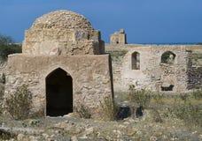 Tomb av Bibi Miriam, en helig kvinna, Qalahat, Oman, arkivbild