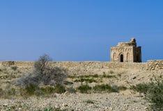 Tomb av Bibi Miriam, en helig kvinna, Qalahat, Oman, arkivfoton