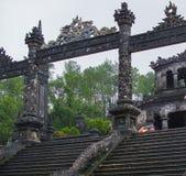 Tomb av kejsaren Khai Dinh, ton, Vietnam Arkivfoton