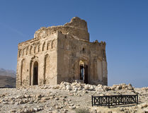 Tomb of Bibi Miriam. A holy woman, Qalahat, north of Sur, Oman, Middle East royalty free stock photos