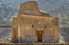 Tomb of Bibi Miriam. A holy woman, Qalahat, north of Sur, Oman, Middle East stock photo
