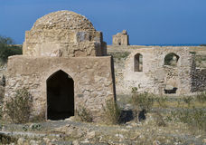 Tomb of Bibi Miriam, a holy woman, Qalahat, Oman,. Tomb of Bibi Miriam, a holy woman, Qalahat, north of Sur, Oman, Middle East stock photography