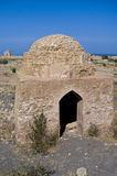 Tomb of Bibi Miriam, a holy woman, Qalahat, Oman,. Tomb of Bibi Miriam, a holy woman, Qalahat, north of Sur, Oman, Middle East stock images