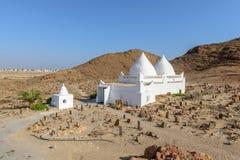 Tomb of Bin Ali in Mirbat, Dhofar region (Oman) Royalty Free Stock Photo