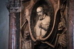 Tomb of cardinal. Royalty Free Stock Photos