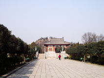 Tomb of Crown Prince Yide, Son of Emperor Zhongzong in Tang Dynasty, Xian, China Royalty Free Stock Photos