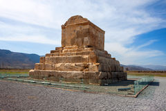 The tomb of Cyrus the Great Stock Image