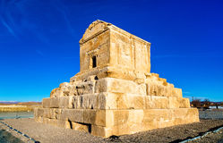 Tomb of Cyrus the Great in Pasargadae, Iran Stock Images
