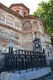Tomb of Dimitrije Davidovic, the author of the first Serbian Constitution. The tomb of Dimitrije Davidovic at the old cemetery in Smederevo, by Orthodox Church royalty free stock photo
