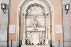 Tomb of Don Juan de Aragon Royalty Free Stock Image