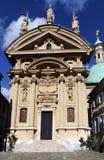 The tomb of Emperor Ferdinand II in Graz Stock Image