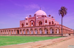 Tomb of Emperor  Humayun at New Delhi Stock Photos