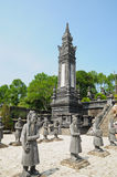Tomb of Emperor Khai Dinh Stock Photo