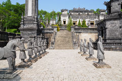 Tomb of Emperor Khai Dinh Stock Images