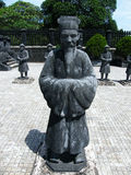 Tomb of Emperor Khai Dinh, Hue, Vietnam Stock Images