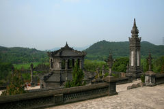The tomb of Emperor Khai Dinh in Hue, Vietnam Royalty Free Stock Image