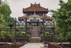 Tomb of Emperor Khai Dinh, Hue, Vietnam.  royalty free stock image