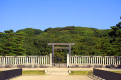 Tomb of Emperor Nintoku, Sakai, Japan Royalty Free Stock Photo