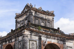 Tomb of Emperor Tu Duc in Hue, Vietnam. This photo is taken in Hue Old Capital. Tomb of Tự Đức Vietnamese: Lăng Tự Đức, officially stock photo