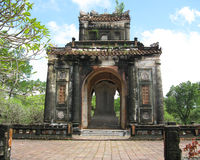 Tomb  of Emperor Tu Duc. The mausoleum of the tomb of Tu Duc at Hue, Vietnam Stock Images