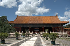 Tomb of Emperor Yongle of Ming dynasty, Changping, China Stock Photography