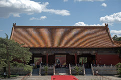 Tomb of Emperor Yongle of Ming dynasty, Changping, China. Tomb of Emperor Yongle of Ming dynasty in Changping, China stock photo