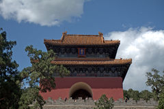 Tomb of Emperor Yongle of Ming dynasty, Changping, China. Tomb of Emperor Yongle of Ming dynasty in Changping, China stock image
