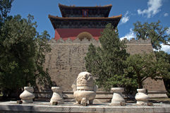 Tomb of Emperor Yongle of Ming dynasty, Changping, China Royalty Free Stock Photography