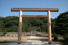 Tomb of Empress Shoken, Kyoto, Japan Royalty Free Stock Photos