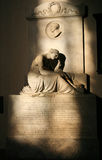 The tomb of Enrico Fermi - Basilica of Sant Kroche- Florence Ita. Art, Travel, Culture, Italy, Tourism,  Florence, Tuscany Stock Photos