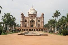 tomb för delhi humayun s royaltyfri foto