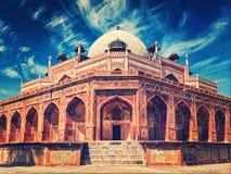tomb för humayun s det svarta gemensamma delhi india manfunktionsläget rider yellow för tuk för trans Royaltyfria Foton