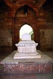 tomb för qutub för delhi iltumishs minar royaltyfri fotografi
