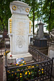 Tomb of the famous scientist and inventor Mikhail Lomonosov Stock Photo
