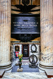Tomb of the father of the Italian homeland, Vittorio Emmanuel Royalty Free Stock Photography