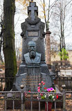 Tomb of Feodor Dostoevsky Royalty Free Stock Image