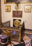 Tomb of Field Marshal Mikhail Kutuzov in the Kazan Cathedral in Stock Photos