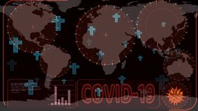 Tomb floating and radar scanning to detected of Covid 19 virus has spread all over world