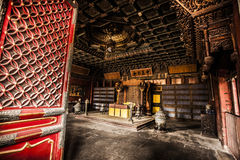 Tomb in Forbidden City Royalty Free Stock Photo