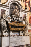 Tomb of Galileo Galilei in Basilica di Santa Croce Royalty Free Stock Photography