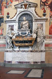 Tomb of Galileo Galilei - Santa Croce Florence Royalty Free Stock Photography