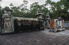 Tomb and gardens of Tu Duc emperor in Hue, Vietnam - A UNESCO W Royalty Free Stock Photo