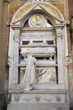Tomb of Gioachino Antonio Rossini in Florence Stock Photography